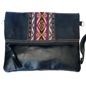 Genuine Leather Handmade Messenger Handbag