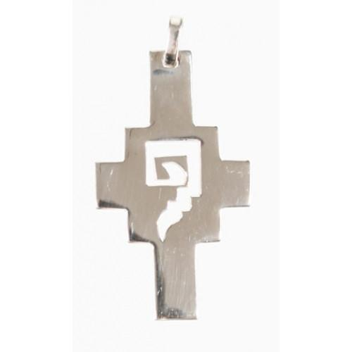 """Chakana"" Peruvian Inspired Sterling SIlver Inka Cross - EvelynBrooksDesigns"