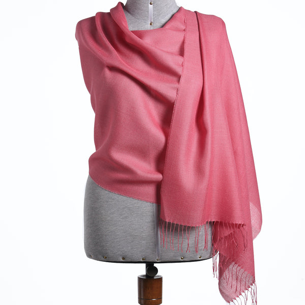 Stylish Year Round Shawls for Men/Women - 70% Peruvian Baby Alpaca 30% Natural Silk