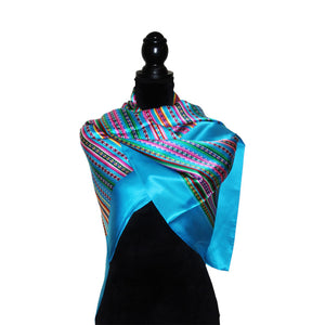 Luxury Pure Silk Reversible Shawl for Women