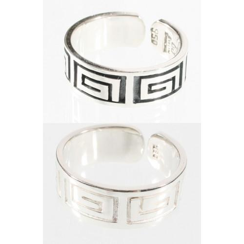 """Moschik"" Peruvian Inspired Love Exchange Unisex Sterling Silver Rings - EvelynBrooksDesigns"