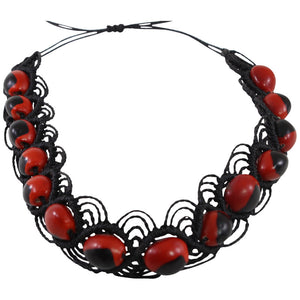 "Eco-friendly UNISEX Good Luck Chocker w/Meaningful Seed Beads 16"" -  20"" - Peru Gift Shop"