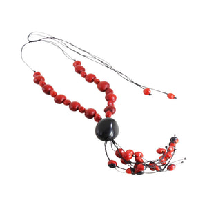 "Ecofriendly Adjustable Good Luck Necklace 16""-24"""
