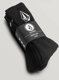 Volcom Socks 3 pack Full Stone