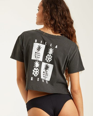 Billabong Mod Pineapple Crop Tee