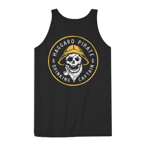 Haggard Pirate Mens Drinking Captain Tank