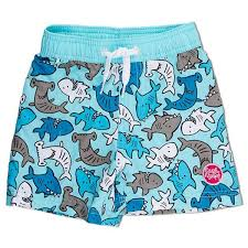 Baby Boy Boardshorts -Shark Friends