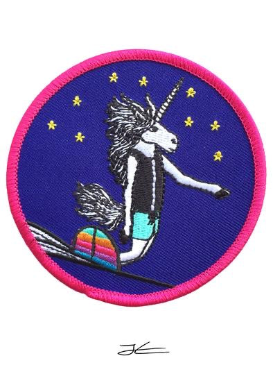 Jonas Draws Embroidered Patches