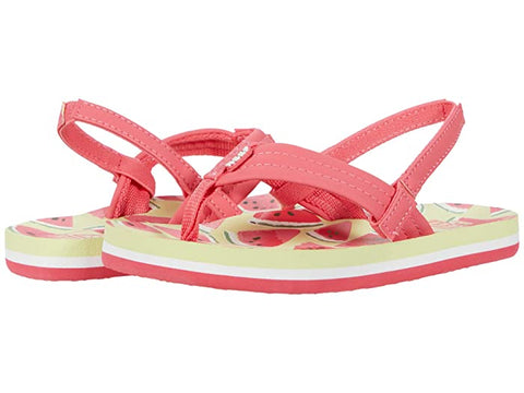 Reef Little Ahi Watermelon Sandals