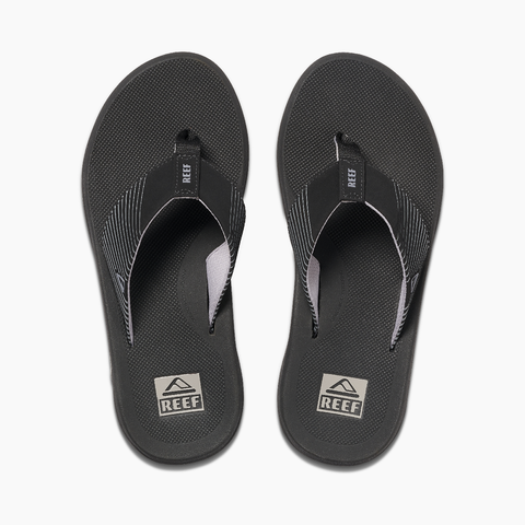 Reef Phantoms II Men Black Sandal