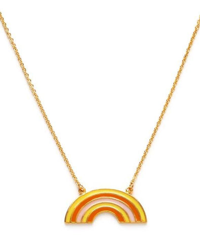 Retro Rainbow Necklace