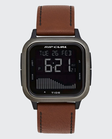 Rip Curl Next Tide Digital Surf Watch Leather