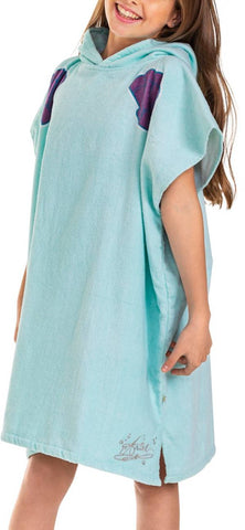 Roxy Girls Pass This On Again Surf Poncho Towel