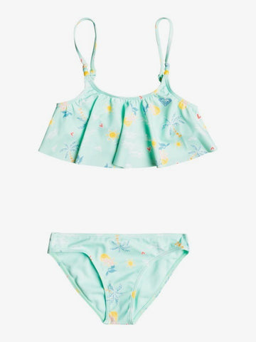 Roxy Little Girls Mermaid Flutter Two Piece Set