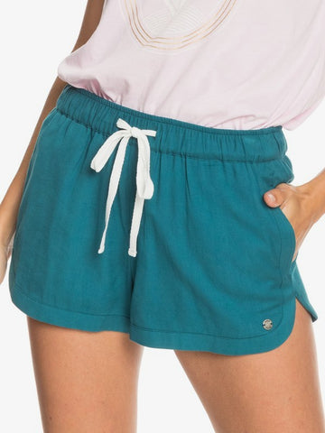 Roxy New Impossible Love Shorts in Teal