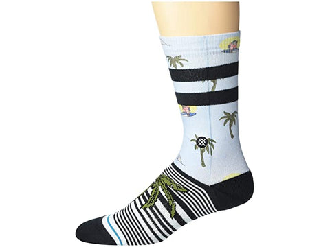 Stance Casual Crew Socks Aloha Monkey