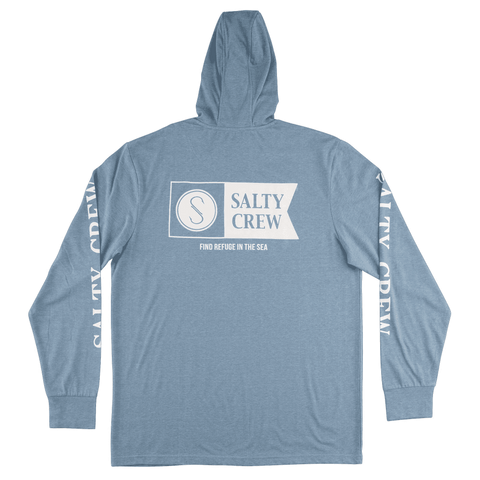 Salty Crew Alpha Refuge Hood Tech Tee