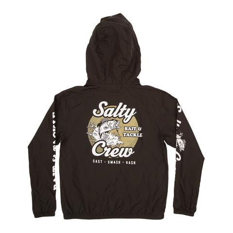 Salty Crew Bait and Tackle Boys Jacket Black