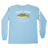 Salty Crew Bigmouth Boys L/S Tee Carolina Blue
