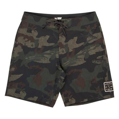 Salty Crew Shacked Boys Boardshorts Camo