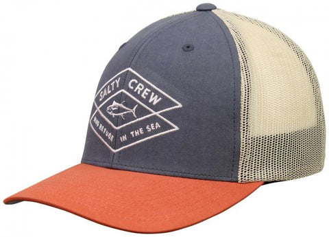 Salty Crew Tiller Retro Trucker Hat