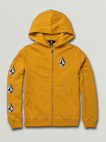 Volcom Youth Deadly Stones Zip Hoodie