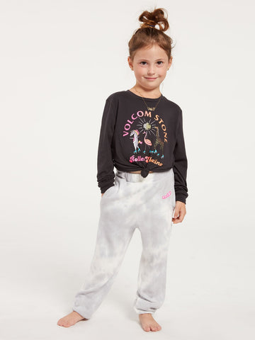 Volcom Girls Tie Dye Lil Fleece Pants