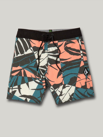 Volcom Labrynth Trunks Little Boys Youth Swim