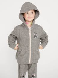 Volcom Lil Zip Fleece Little Girls