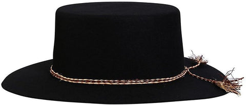 Conner Risky Business Wool Boater Hat