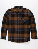 Youth Volcom Caden Flannel Plaid