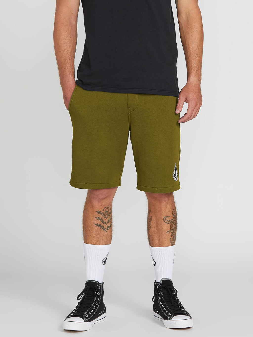 Volcom Deadly Stones Fleece Sweat Shorts