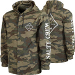 Salty Crew Tippet Cover Up Snap Jacket