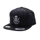 Haggard Pirate Skull Swords Snapback/Trucker Hat