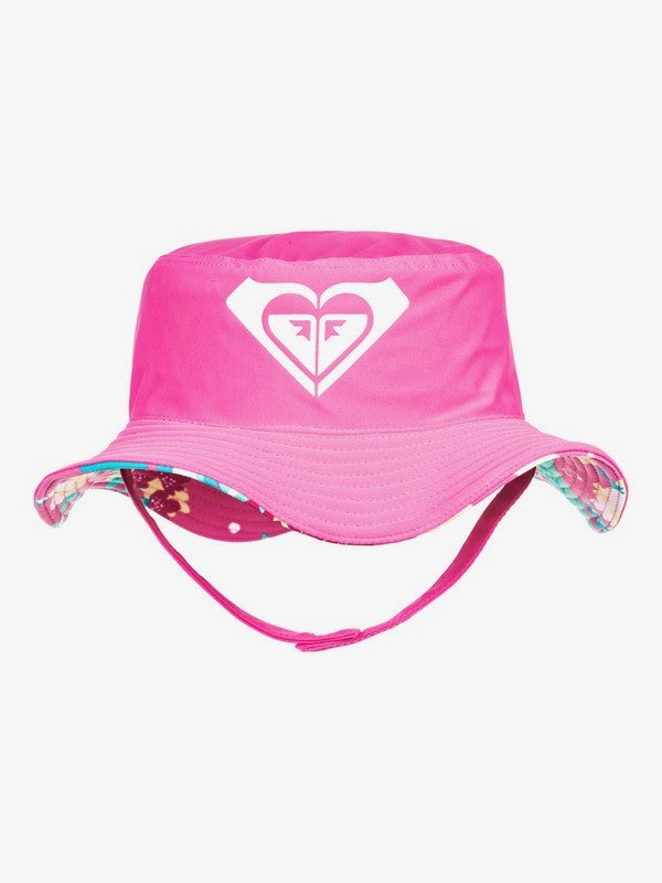 Girls Bobby Bucket Hat With Chin Strap