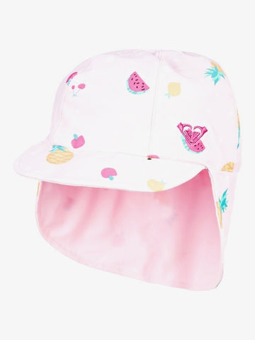 Girls Come And Go Reversible Swim Hat With Neck Protection