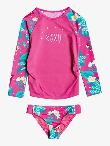 Girls Magical Sea Long Sleeve UPF 50 Rashguard Set