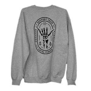 Haggard Pirate Shaka Crew Neck Sweatshirt