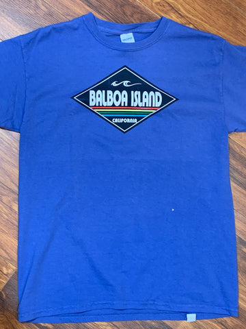 Balboa Youth Tee blue