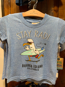 Boys T Stay Rad Seagull EN