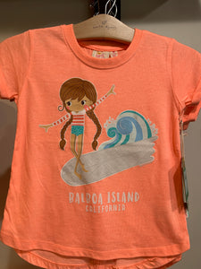 Girls T Surfer Girl EN