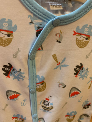 Baby B LS Romper Pirate Fun EN