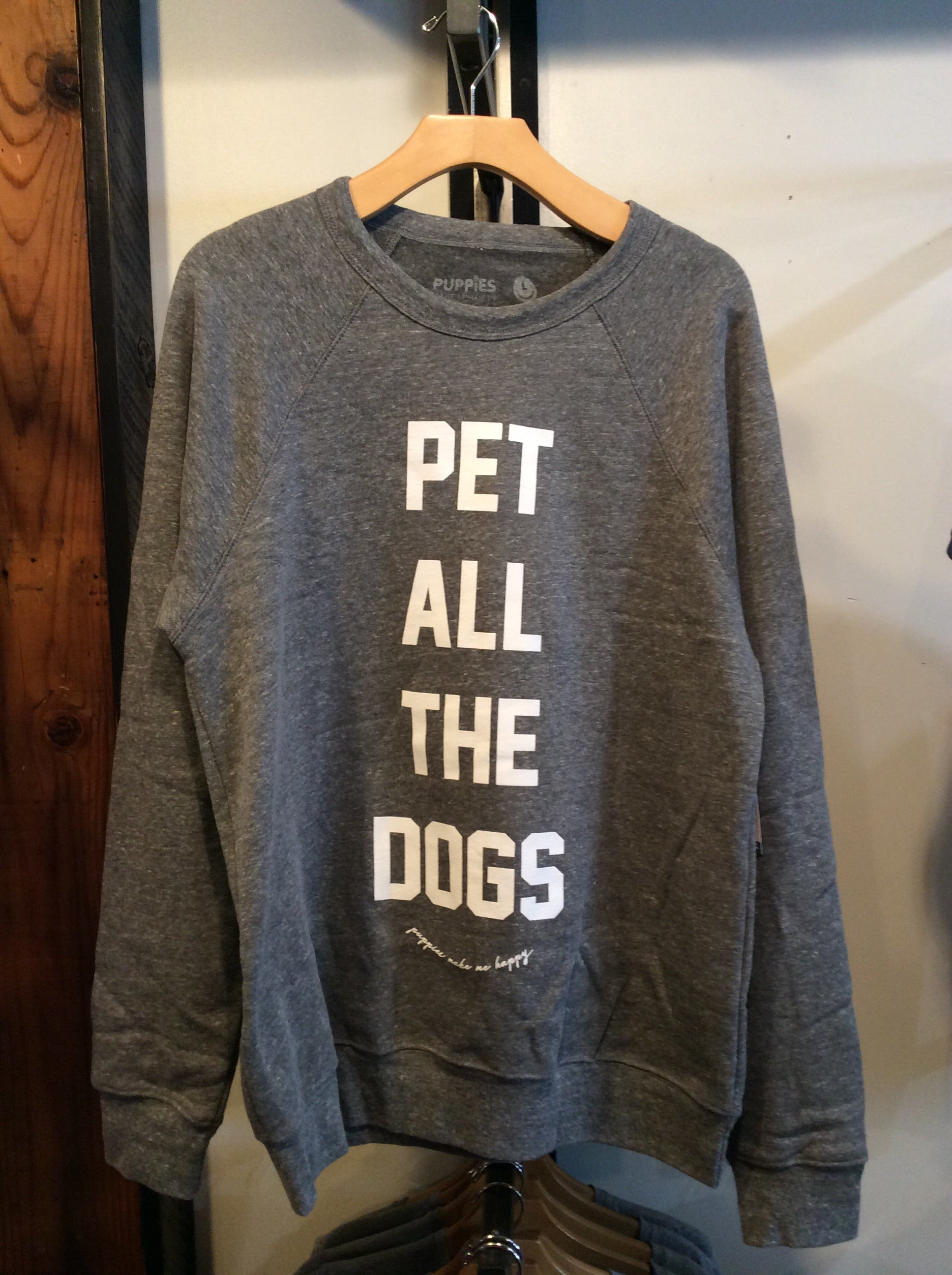 Pet Dogs Crew Sweatshirt Puppies