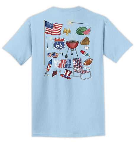 Vacay For Life America Shirts