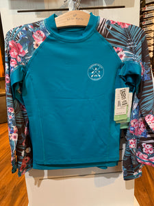 Rash guard Girls NB Floral