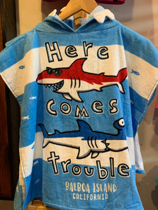 Boys Towel Cape Trouble EN