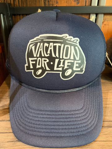 Vacation For Life Hats
