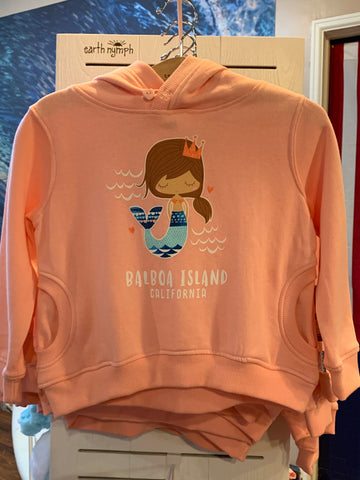Girls  Folk Mermaid Hoodie EN