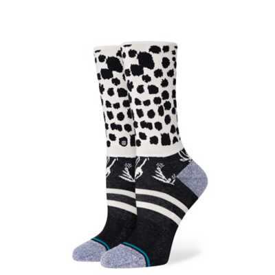 Stance Casual Woman's Crew Socks- Running Wild