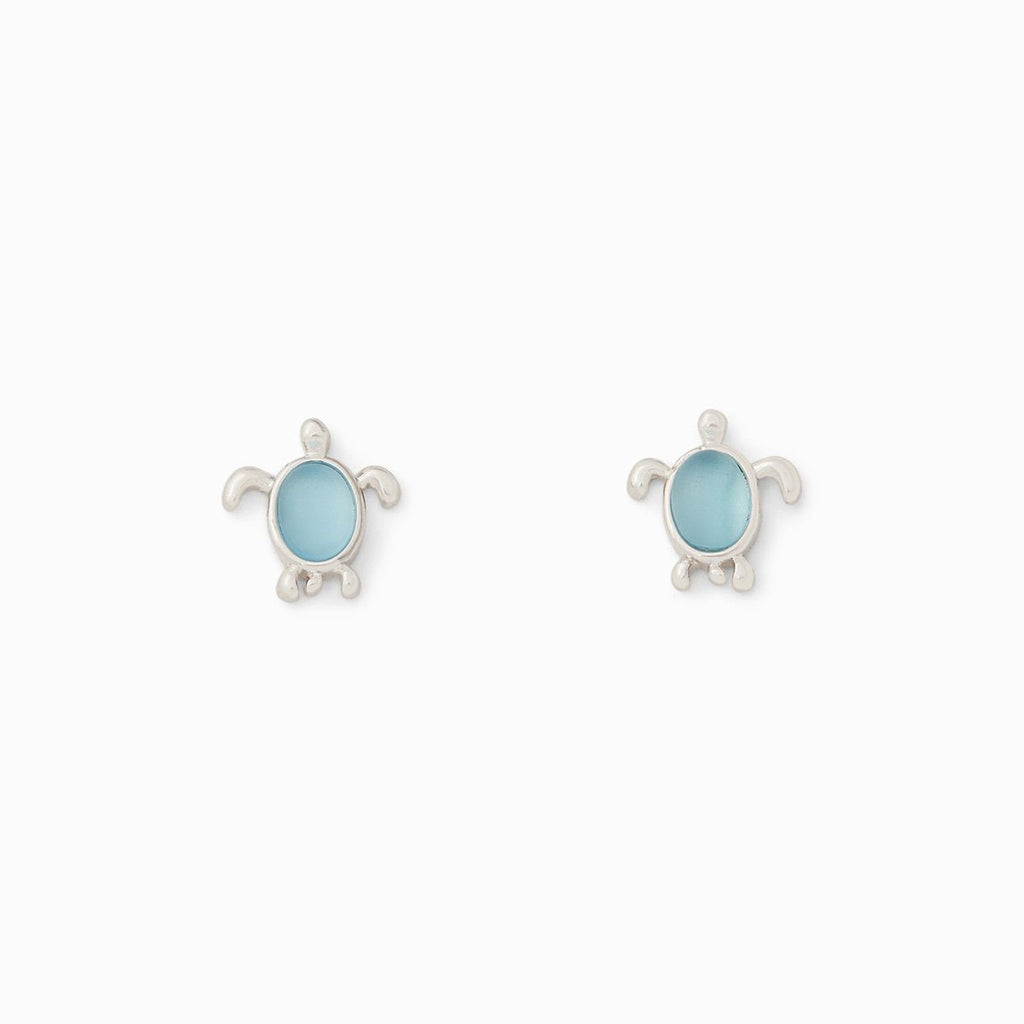 Pura Vida Sea Turtle Stud Earrings